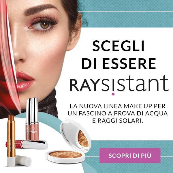 RAYsistant – il nuovo Makeup che ti fa bella e ti protegge